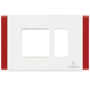 Standard - cover plate carmine red