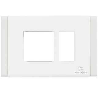 Standard - cover plate white